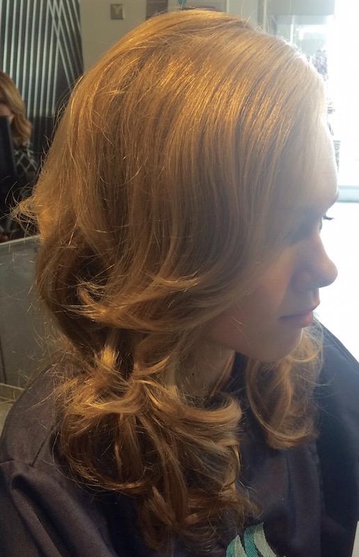 Chloe Set Hair - Hairdresser Bath