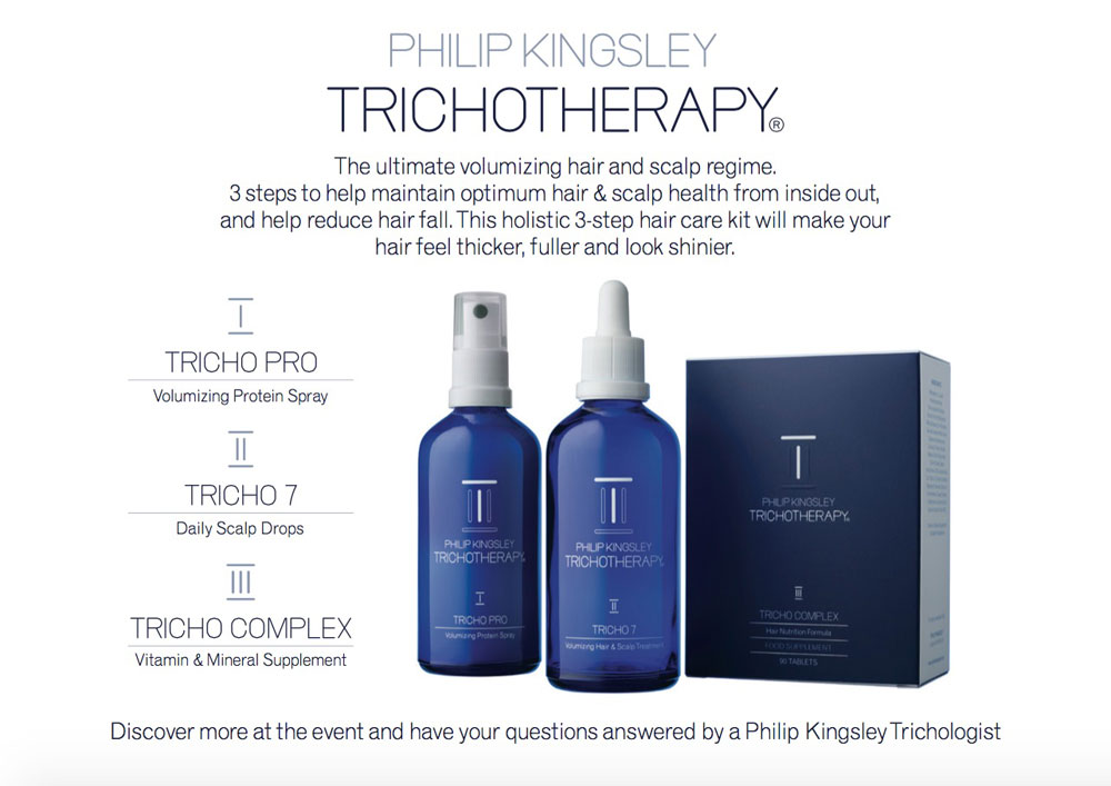 Philip Kingsley Trichotherapy - Hairdresser Bath