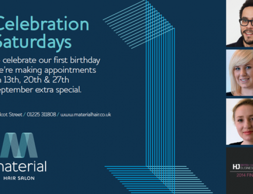 Celebration Saturdays For Material Hair Salon's First Anniversary