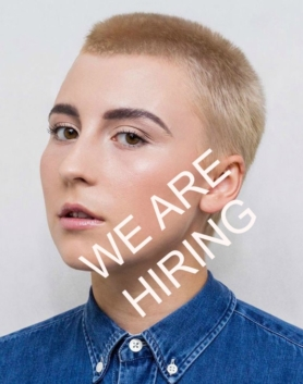 we are hiring hairdresser