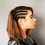 Festival Corn Row Braids - Hairdresser Bath